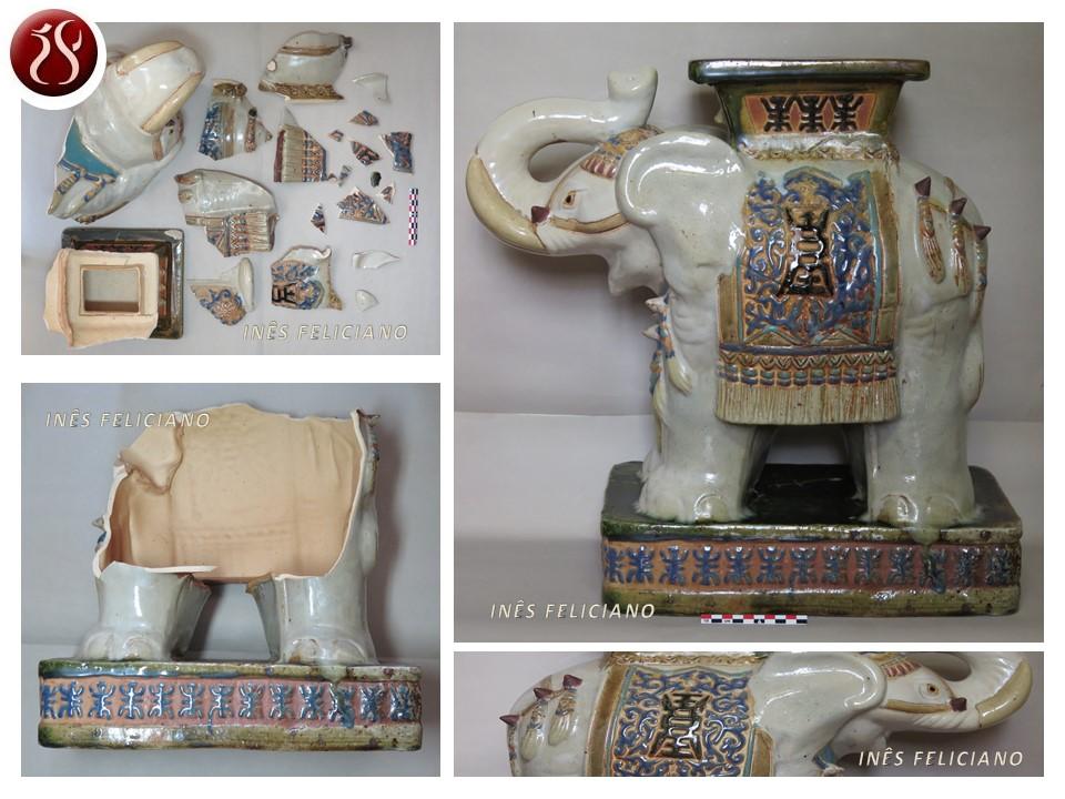 elefante banco