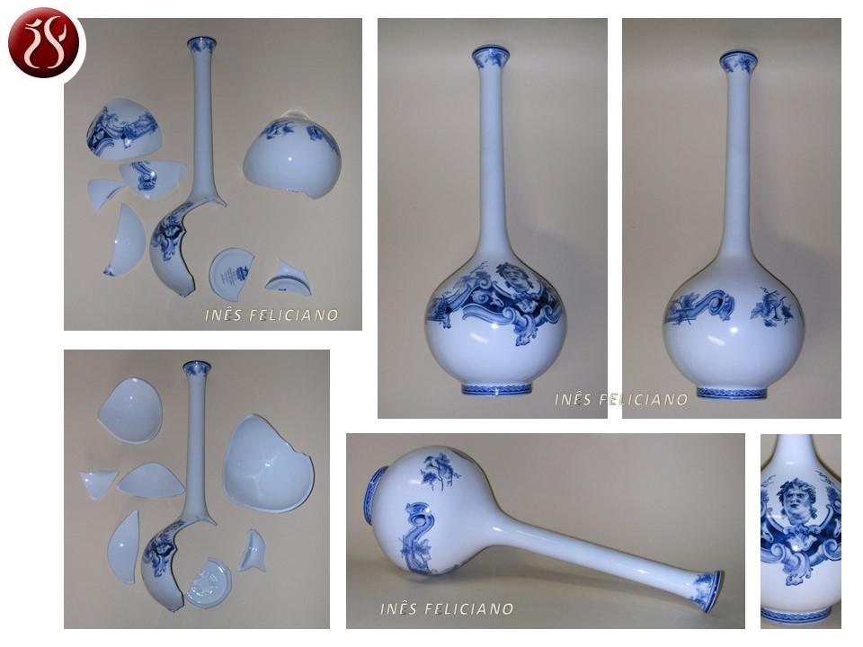 Solitário porcelana
