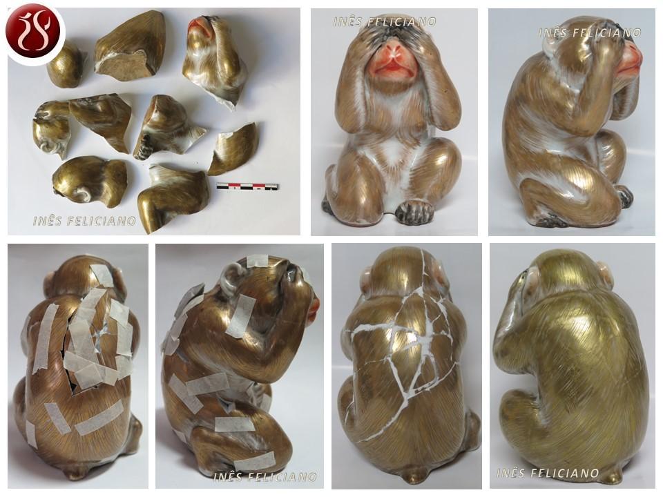 Macaco Porcelana Oriental 708